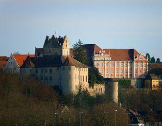 Meersburg Castle and Meersburg New Palace