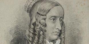 Fürstenhäusle Meersburg, Bildnis Annette von Droste-Hülshoffs
