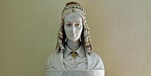 Bust of Annette von Droste-Hülshoff by Anton Rüller at the Meersburg Prince's Little House